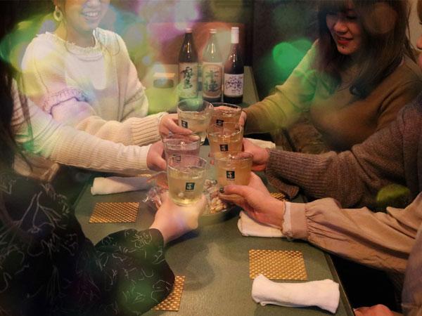 仲間との飲み会、女子会